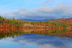 Fall color at White Mountains Royalty Free Stock Photography