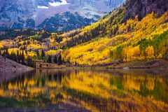 Fall in the Colorado Royalty Free Stock Photos
