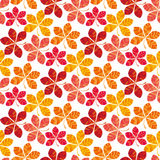 Fall colored wallpaper vector illustration. wrapping paper motif Stock Photo
