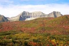 Fall colors. A beautiful pictures in the mountains of the fall colors of the trees Stock Photography
