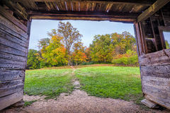 Fall Colors in Cade's Cove Royalty Free Stock Images