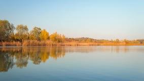 Fall colors lake 4 Royalty Free Stock Photos
