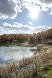 Fall Colors Lake Stock Photo