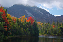 Fall Colors and Mountain Royalty Free Stock Image