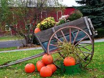 Fall Colors in New Jersey. Local farm stand captures the Autumn season stock photography
