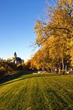 Fall colors in the park Royalty Free Stock Photo