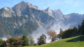 fall / autumn in the Siwss Alps Stock Photos