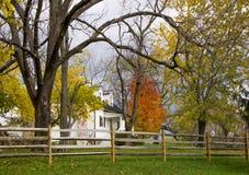 Fall colors of Sky Meadow National park. Fall colors of the Sky Meadow Park at Shenandoah Valley, Virginia Royalty Free Stock Photos