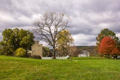 Fall colors of Sky Meadow National park. Fall colors of the Sky Meadow Park at Shenandoah Valley, Virginia Stock Image
