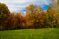 Fall colors Vermont Royalty Free Stock Image