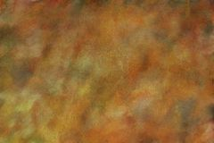 Fall Colors Watercolor Fine art Texture / Background Grunge. 6000 x 4000 @ 300 dpi jpeg file Beautiful shades of gold, green, yellows, and browns blend together Royalty Free Stock Image