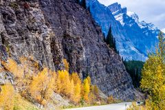 Taken from along the Ice Fields Parkwayl Banff National Park, Alberta, Canada Royalty Free Stock Image