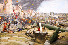 Fall of Constantinople Royalty Free Stock Photo