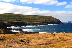 Fall on Cost Line of Newfoundland, Canada. Typical look of Newfoundland, Canada Coast Line during the Fall stock photos