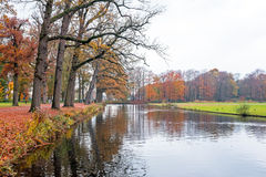 Fall in the countryside from Netherlands Royalty Free Stock Photos