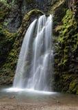 Fall Creek Falls in Autumn stock photography