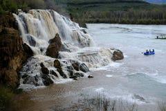 Fall Creek Water Falls Waterfalls River Royalty Free Stock Photos