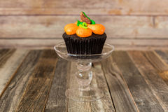 Fall cupcake Stock Photo