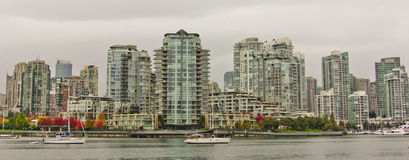 A Fall Day in Vancouver, BC. Royalty Free Stock Photography