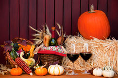 Fall Decor Royalty Free Stock Photography