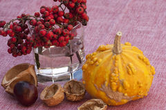 Fall decoration. Of home interior Stock Image
