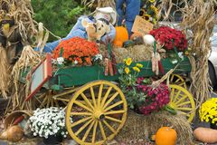 Fall Decorations Royalty Free Stock Image