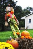 Fall decorations outside royalty free stock photos