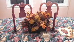 Fall Decorations Royalty Free Stock Photos