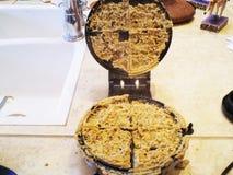 Fall del hierro de galleta Foto de archivo libre de regalías