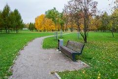 Fall in den Stadt-Park Lizenzfreie Stockfotografie