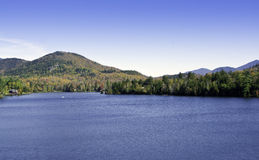 Fall in die Adirondack Berge Lizenzfreie Stockfotografie