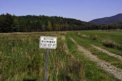 Fall in die Adirondack Berge Stockfotografie