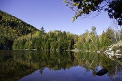 Fall in die Adirondack Berge Stockfotos