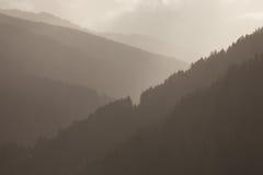 Fall in die Alpen lizenzfreie stockbilder