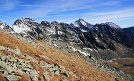 Fall in die hohen Tatras Berge Lizenzfreie Stockbilder
