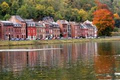 Fall.Dinant, Belgio Immagine Stock Libera da Diritti