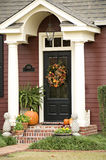 Fall Door Royalty Free Stock Photos