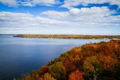 Fall in Door County Lizenzfreie Stockbilder