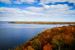Fall in Door County Royalty Free Stock Images