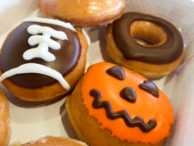 Fall Doughnuts Royalty Free Stock Images