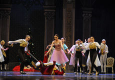 Fall down godfather-The Ballet  Nutcracker Stock Image