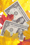 Fall Economy Royalty Free Stock Images