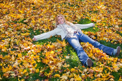 Fall-en Angel Stock Photos