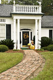 Fall Entryway Stock Photo