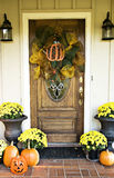 Fall Entryway Stock Image