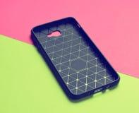 Fall för smartphone royaltyfria foton