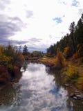 Fall-Farben entlang dem Fluss #1 Stockbilder