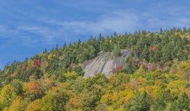 Fall-Farben nahe Wilmington-Kerbe Lizenzfreies Stockbild