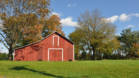 Fall Farm. This is a shot of farm in Somerville, NJ Royalty Free Stock Photography