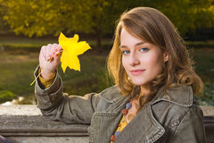 Fall fashion. Royalty Free Stock Images